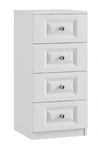 Lazio 4 Drawer Narrow Chest